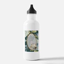 floral tea cup vintage Water Bottle