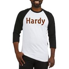 Hardy Fall Leaves Baseball Jersey