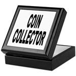 Coin Collector Keepsake Box