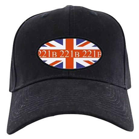 221B union jack Baseball Hat
