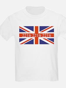 221B union jack T-Shirt