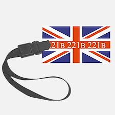 221B union jack Luggage Tag