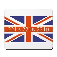 221B union jack Mousepad
