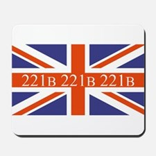 221B union jack Mousepad