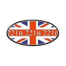 221B union jack Patches