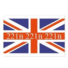 221B union jack Postcards (Package of 8)