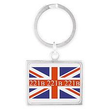 221B union jack Keychains