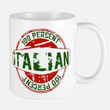 100 Percent Italian - Guaranteed Certified % Mugs