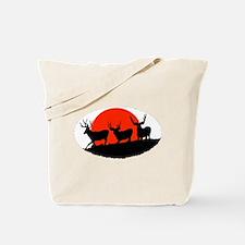 Shadow bucks Tote Bag