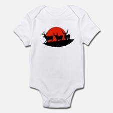 Shadow bucks Infant Bodysuit