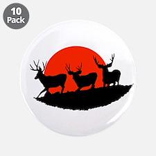 "Shadow bucks 3.5"" Button (10 pack)"