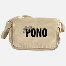 Live Pono Messenger Bag