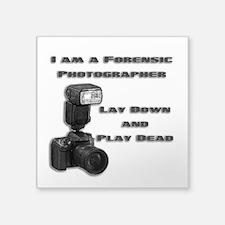 FORENSIC PHOTOGRAPHER Sticker