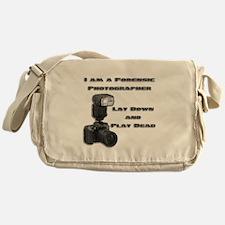 FORENSIC PHOTOGRAPHER Messenger Bag