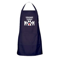 Yorkshire Terrier Mom Apron (dark)