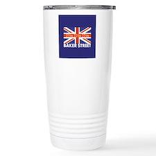 221B Union Jack Travel Mug
