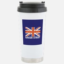 221B Union Jack Travel Mug