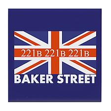 221B Union Jack Tile Coaster