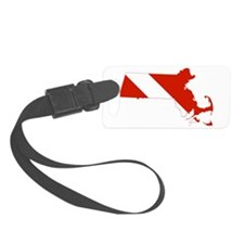Massachusetts Diver Luggage Tag
