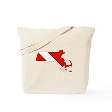 Massachusetts Diver Tote Bag