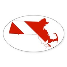 Massachusetts Diver Decal
