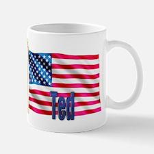 Ted American Flag Gift Mug