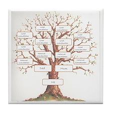 Ancestor Tree Tile Coaster