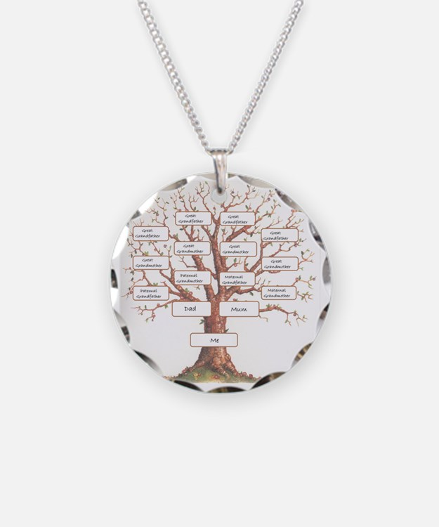 Ancestor Tree Necklace