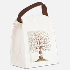 Ancestor Tree Canvas Lunch Bag