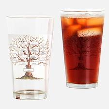 Ancestor Tree Drinking Glass