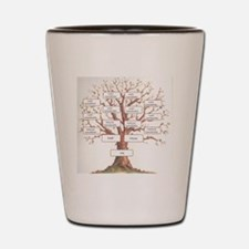 Ancestor Tree Shot Glass