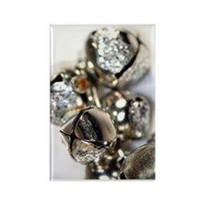 Bells Close-Up Rectangle Magnet