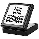 Civil Engineer Keepsake Box