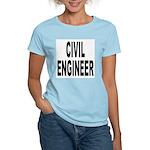 Civil Engineer Women's Pink T-Shirt