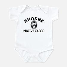 Apache Native Blood Infant Bodysuit
