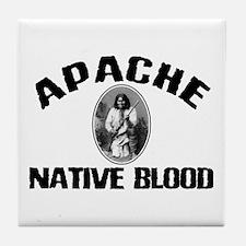 Apache Native Blood Tile Coaster