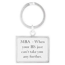 MBA Landscape Keychain