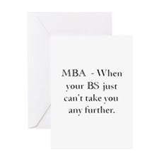 MBA Greeting Card