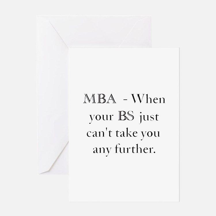 MBA Greeting Card