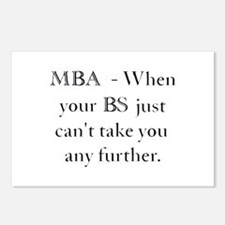 MBA Postcards (Package of 8)