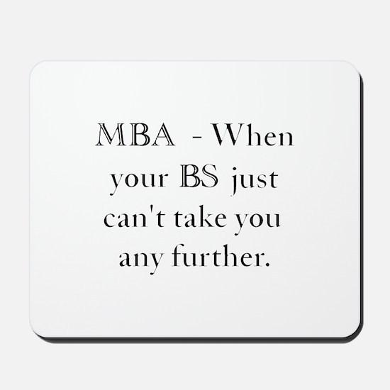 MBA Mousepad