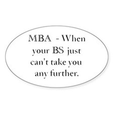MBA Decal