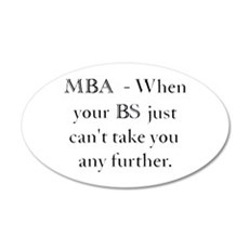 MBA Wall Decal