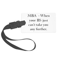 MBA Luggage Tag