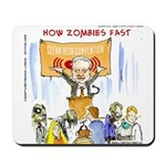 Starving Zombies And Glenn Beck Mousepad