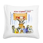 Starving Zombies And Glenn Beck Square Canvas Pill