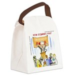 Starving Zombies And Glenn Beck Canvas Lunch Bag