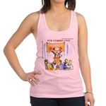 Starving Zombies And Glenn Beck Racerback Tank Top