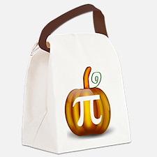 Pumpkin Pi Canvas Lunch Bag