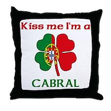 Cabral Family Throw Pillow